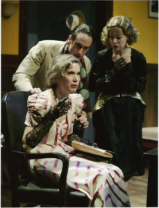 "Jill Hill in A Noise Within's 2004 production of ""A Flea in Her Ear"""