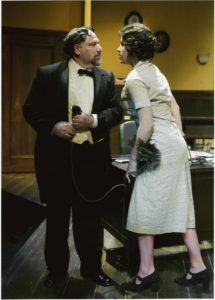 "Alan Blumenfeld in ANW's 2004 production of ""A Flea in Her Ear."" Photo by Craig Schwartz."