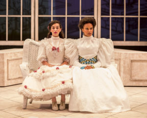 Marisa Matthews & Carolyn Ratteray in The Importance of Being Earnest. Photo by Craig Schwartz.