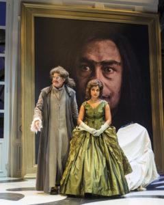 ANW's Geoff Elliott & Carolyn Ratteray in Tartuffe. Photo by Craig Schwartz.