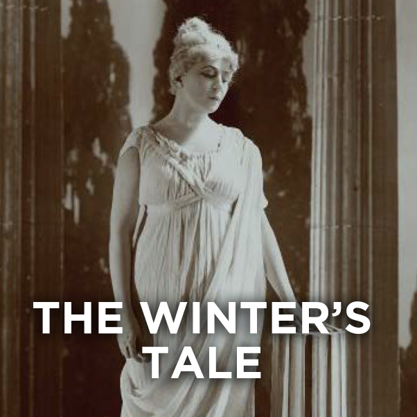 A white statue of a woman. THE WINTER'S TALE.